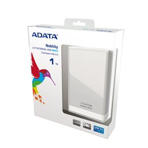 ADATA NH13 1TB Metallic Case USB 3.0 External Hard Drive